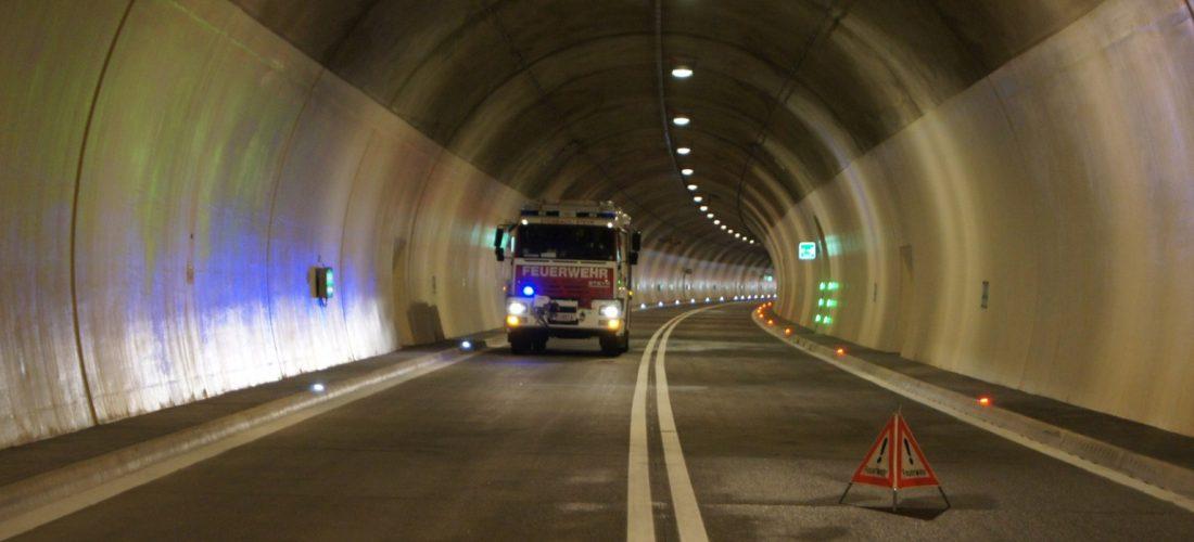 Tunnelübung in Klaus